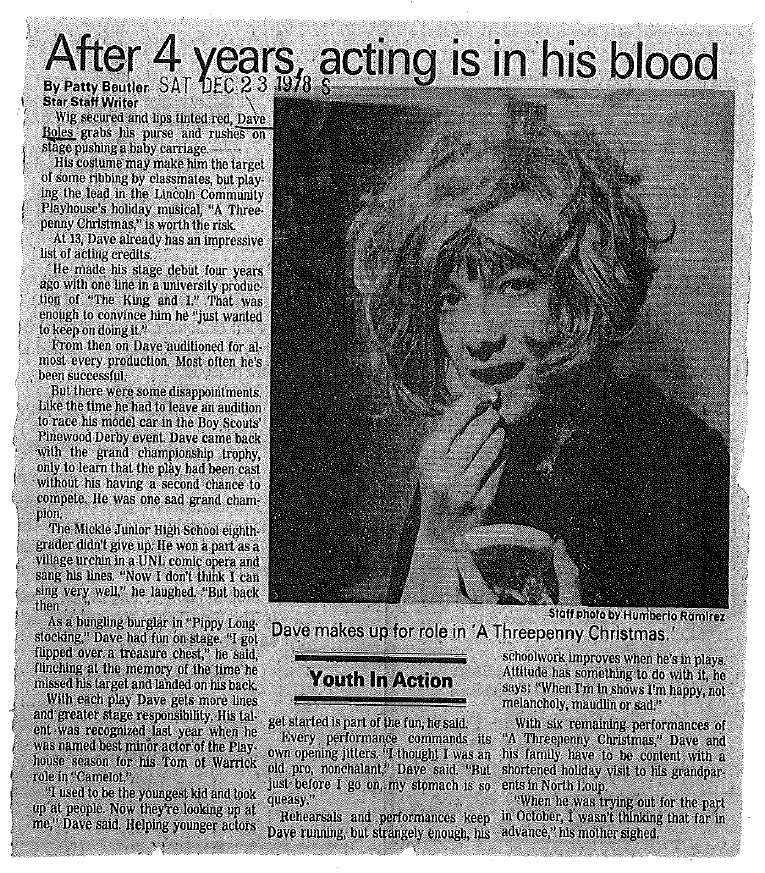 Newspaper Clippings 1978-1985