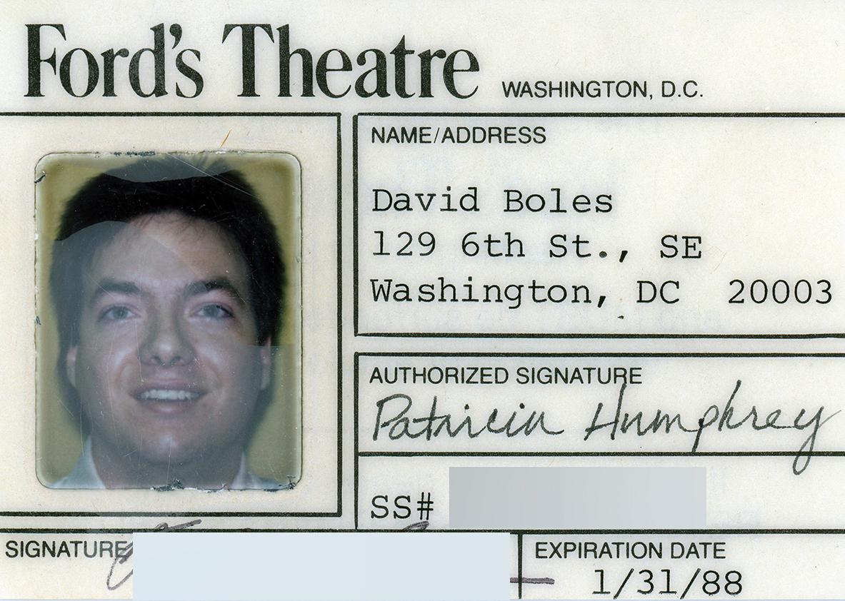 Ford's Theatre ID 1988