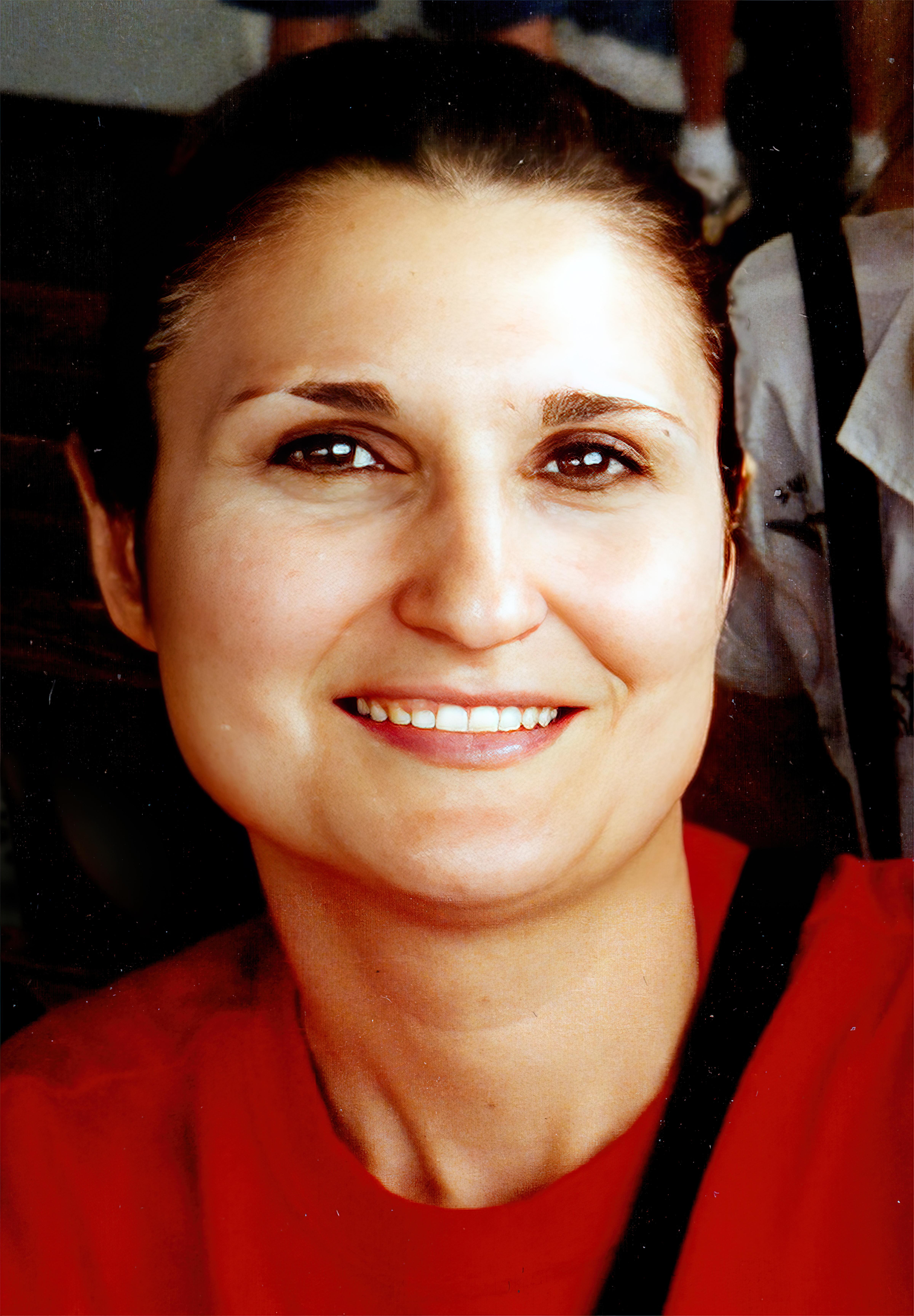 Janna Swenie, Beautiful in Red, 6-19-1999