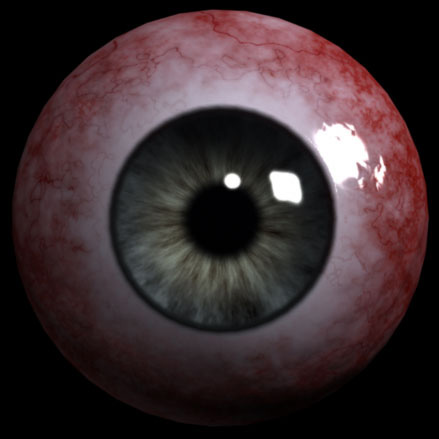 Big Bloody Eyeball!