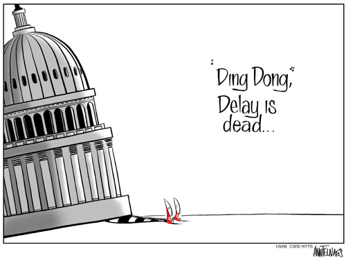 Tom Delay is Gone