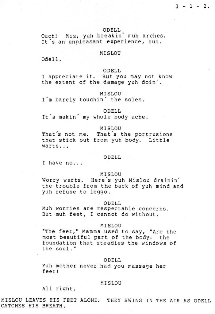 Bits & Pieces Script