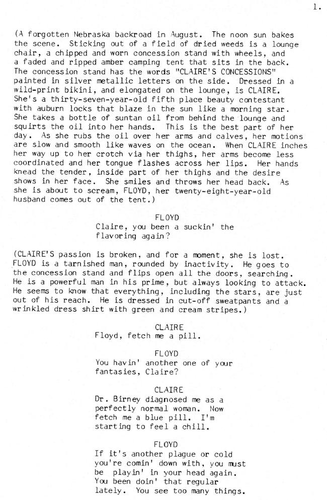 Concessions Script