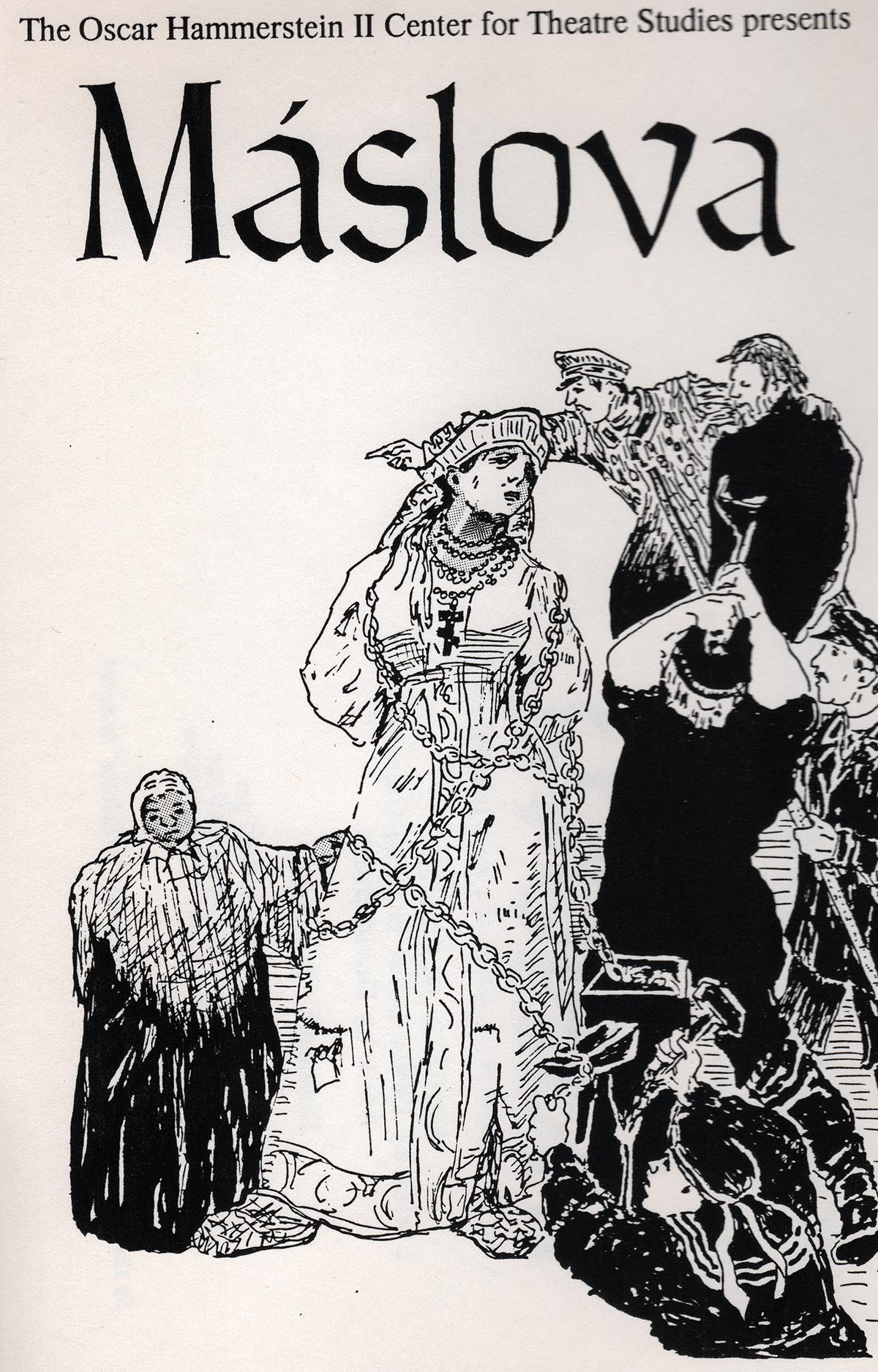 Maslova: Tolstoy Musical Lobby Card